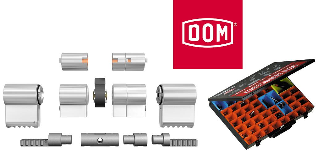 DOM Modulair veiligheidscilinder-systeem