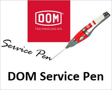 DOM Service Pen - Smeermiddelen voor sloten